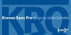 Font dňa – Kronos Sans Pro