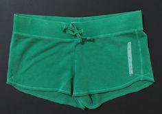 Old Navy Women's Green Fleece Shorts With External Drawstring Size S NWOT #OldNavy #Shorts