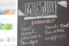 Organising Meals - Breakfast Menu - for an easier life Breakfast Menu, Organising, Ecommerce Hosting, Organization, Meals, Blog, Kids, Getting Organized, Power Supply Meals