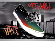 My take on a Vans, Off the Wall poster. I quite like the graffiti take on this shoe.   Design, art, concept, shoes, sneakers, vans.