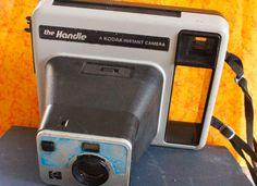 1977 Vintage Kodak Instant Camera The Handle by 2BEB on Etsy