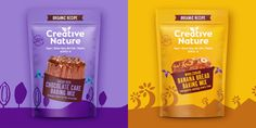 Biscuits Packaging, Baking Packaging, Pouch Packaging, Cool Packaging, Food Packaging Design, Packaging Design Inspiration, Packaging Snack, Snack Brands, Chocolate Treats