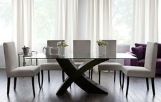 Minimalist Dining Table Interior Design Ideas - Dining Room