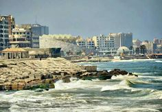 Beautiful Waterfront, Alexandria, Egypt