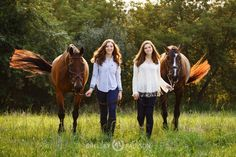 Twin Girls and their Horses Shelley Paulson Photography _______________________________ Timeless Equestrian Photography by Shelley Paulson http://www.shelleypaulson.com