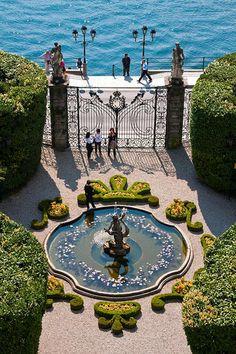 The Fountain, Villa Carlotta, Lake Como, Italy