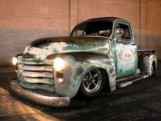 1952 Chevy Truck not a truck fan but love the old ones