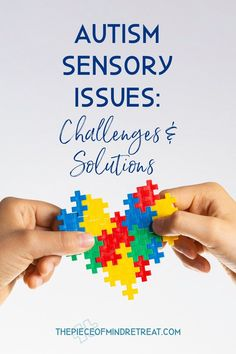 Do you live with autism sensory issues? If you or someone you love has an autism diagnosis, you are probably also learning to manage autism sensory issues. #AutismSensoryIssues #ThePieceOfMindRetreat Autistic Toddler, Children With Autism, Sensory Activities For Autism, Activities For Kids, Parenting Teens, Parenting Hacks, Living With Autism, Autism Diagnosis, Sensory Issues