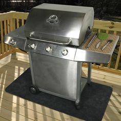 Home & Garden Gas Portable Grill Mat