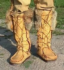 Tall Moccasin Boots, Lace Up Moccasins, Custom Handmade to ...