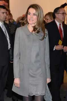 Spanish Royals Inaugurate ARCO Art Fair 2013