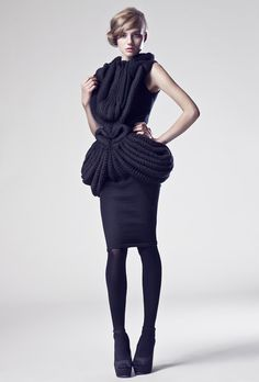 Ragne Kikas AW 2012 Photo: Maximilian Bartsch Hair/Make Up: Jeanette Johansson Model: Chloé P. (MD Management)