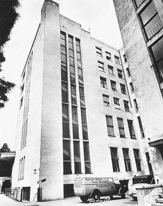Reichskanzlerplatz 7, 9, 11, 1.8.1939, Deutschland Haus, erbaut 1929-31, Ansicht vom Hof
