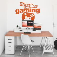 Game Room Gaming Stickers Gaming Game Decor What\u2019s your superpower Sticker Gaming Decal Gaming Decor SKU:IMAG
