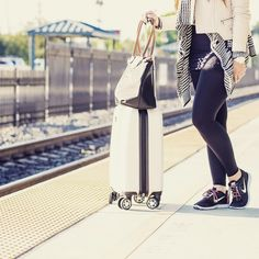 Going somewhere? Rock these stylish Rejuva compression leggings on your trip to prevent fatigue blood clots and swelling while you travel. Learn more about these innovative leggings at brightlifego.com  #rejuva #travelling #fashionstyle #travelingram #fashiongram #traveler #style #fashion #travelstyle #mylook #fashiondiaries  #ootd #whattowear #trip #vacation #train #fashionistas  #traveldiaries #compressionstockings #compressionsocks #fashionblogger #traveltips #rejuvahealth #compression…