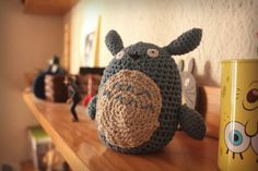 Totoro Amigurumi - kokografic.blogspot.com