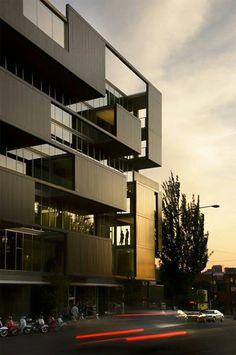 facade and space
