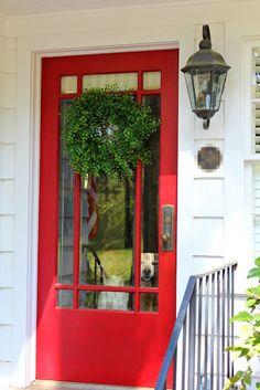 Ten June: DIY Spring Wreath