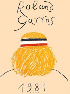 Affiche Roland Garros 1981