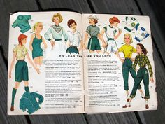 1950s Girl Scouts catalogue