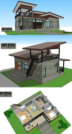 2 Bedroom Bungalow House Plans In the Philippines. 23 2 Bedroom Bungalow House Plans In the Philippines. House Plans Under to Build Philippines Loft House Design, 2 Bedroom House Design, Modern Bungalow House Design, 2 Storey House Design, Simple House Design, Bungalow House Plans, Sims House Plans, Minimalist House Design, Philippines House Design