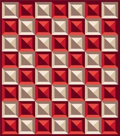 Checkered Tiles designed by Robert Kaufman Fabrics. Features #konacotton. Three color stories. Pattern will be available to download for #FREEatrobertkaufmandotcom in October 2016.