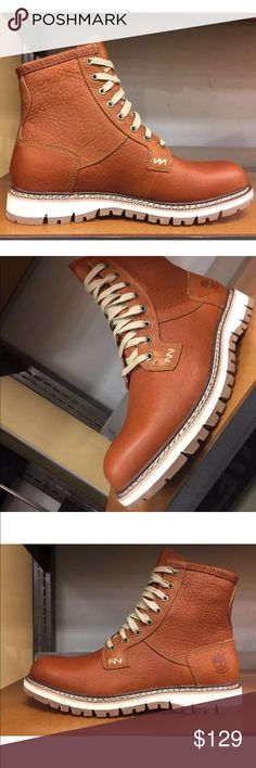 732f6cde9a4 Timberland Men's Britton Hill Boots Classic Orange Burnt orange. Brand New  with Box. Timberland's