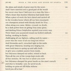 """Compare this passage from the Robert Fagles translation of The Odyssey to """"Roll on John"""": """"They tied your hands and they clamped your mouth"""" (and consider the other line from page 132, as well as the photo of the Pallas Athena fountain on the cover of Tempest)."""