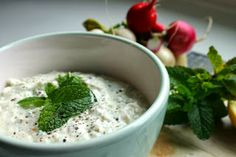 Ricetta della salsa zaziki/tzatziki