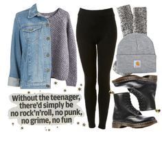 Lo's Clothes from tumblr | winter outfit featuring doc martens
