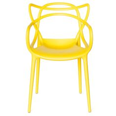"""Masters Chair Yellow on Rent in NYC:  Features: sleek, modern indoor-outdoor chair  Dimensions: 22.5""""L x 18.5""""D x 33""""H  Inquiry us today @ 877.224.2220"""