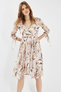 Topshop Mesh Midi Dress in Floral, Floral Midi Dress, Midi Dresses, Maternity Fashion, Maternity Styles, Spring Summer Fashion, Amazing Women, New Dress, Casual Dresses, Topshop