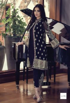 Mbroidered Eid Collection Maria B Mbroidered Eid Dresses Maria B embroidered collection Maria B Mbroidered Eid Collection 2015 Party Wear Dresses, Eid Dresses, Indian Dresses, Fashion Dresses, Ikkat Dresses, Wedding Dresses, Latest Pakistani Fashion, Pakistani Outfits, Indian Fashion