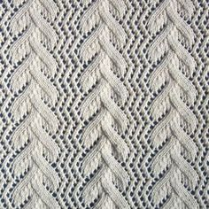 1884 Knitted Lace Sample Book: November 2009. This particular pattern is called Vine Tidy. The blog discusses old patts from the 1800s, and tells of current resources that have understandable directions. From Lace Knitter.