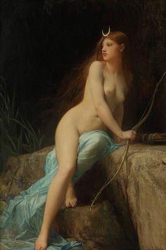 pmikos:   Diana  Jules Joseph LeFebvre (1836-1911)