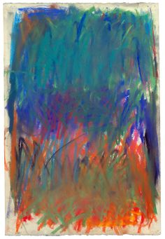 Misdirection...by Joan Mitchell.