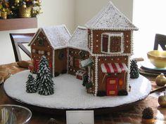 Santa's Village Gingerbread House