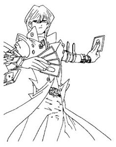Yu Gi Oh The Enemy Will Install Card Coloring Page