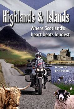 Wild coastal landscapes, misty moors, mythical lakes and idyllic glens. Travel journalist and film-maker Erik Peters travels this time to Scotland. With motorbike…