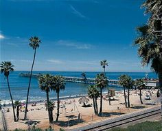 San Clemente Pier. I sat right down on that beach with my grandma and cousins