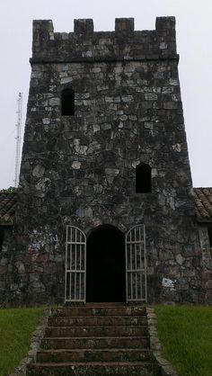Stone tower in Maricao, Puerto Rico