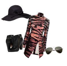 ALDO Oringoa & outfit