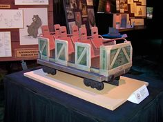 Mine train car model (I believe this is for Expedition Everest)