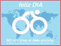 19 de Abril : Día Mundial de la Bicicleta  / April 19: World Day of the Bicycle