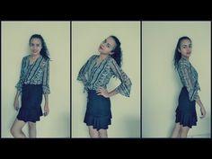 Saia Sino e trompete passo a passo por Alana Santos Blogger - YouTube