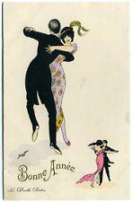 Post Card Xavier Sager Art Dancers Le Double Boston