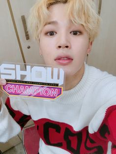 #JIMIN on Show Champion's Official Twitter account (@showchampion1)
