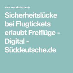 Sicherheitslücke bei Flugtickets erlaubt Freiflüge - Digital - Süddeutsche.de