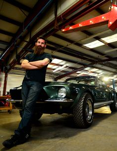 Fast N' Loud's Aaron Kaufman leads a crew at Gas Monkey Garage that churns out head-turning creations every two to four weeks. http://www.powerperformancenews.com/features/the-builder-king/