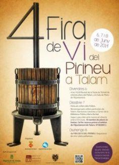 Fira del Vi del Pirineu a Talarn (juny 2014)